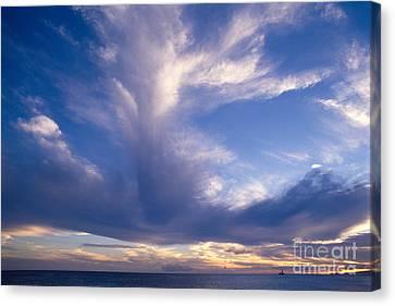 Salt Air Canvas Print - Cloud Formations by Mary Van de Ven - Printscapes