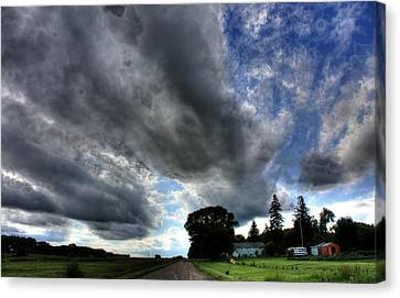Cloud Lane Canvas Print