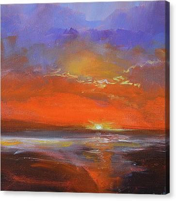 Abstract Seascape Canvas Print - Cloud Light by Nancy Merkle
