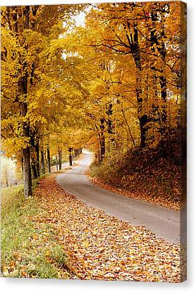 Cloudland Rd., Woodstock Vt Canvas Print