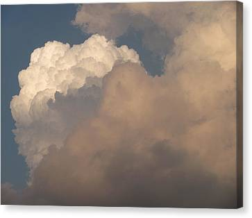 Canvas Print featuring the photograph Clouds 3 by Douglas Pike