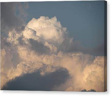 Canvas Print featuring the photograph Clouds 4 by Douglas Pike