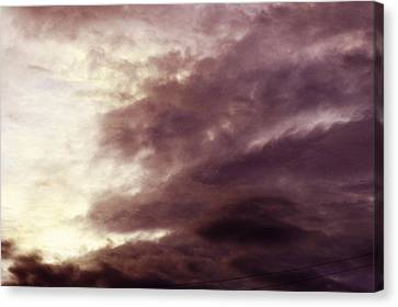 Clayton Canvas Print - Clouds by Clayton Bruster