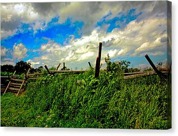 Clouds Over Gettysburg Canvas Print