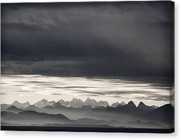 Coastal British Columbia Canvas Print by Carol Leigh