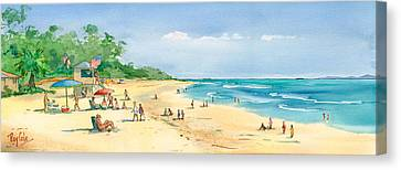 Coastal View Canvas Print by Ray Cole