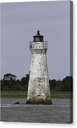 Cockspur Lighthouse Canvas Print