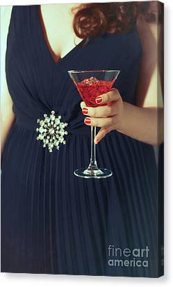 Cocktail Hour Canvas Print by Amanda Elwell