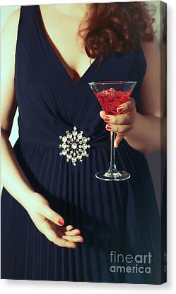 Cocktail Party Canvas Print by Amanda Elwell