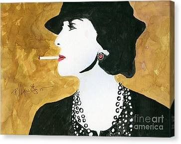 Coco Canvas Print by P J Lewis