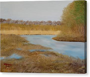 Colfax Wildlife Area Canvas Print