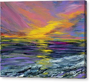Collection Art For Health And Life. Painting 8 Canvas Print