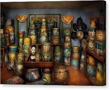 Collector - Hats - The Hat Room Canvas Print