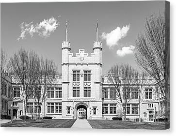 College Of Wooster Kauke Hall  Canvas Print