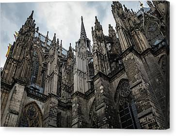 Cologne Cathedral - Germany Canvas Print by Jon Berghoff