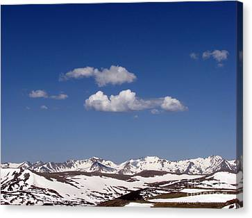Colorado Canvas Print by Amanda Barcon