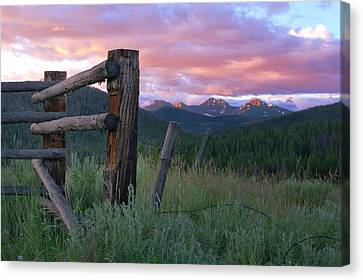 Colorado Glory Canvas Print