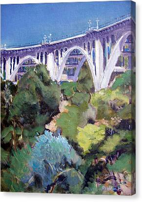 Colorado Street Bridge Canvas Print