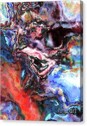 Undefined Canvas Print - Colorful Abstract by Phil Perkins