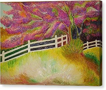 Colourful Earth Canvas Print by Xafira Mendonsa