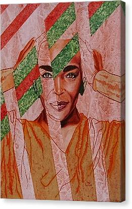 Coming Together Canvas Print by Shahid Muqaddim