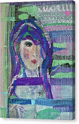 Complicated Woman Canvas Print