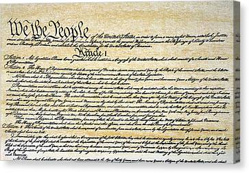 Constitution Canvas Print by Granger