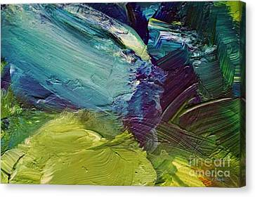 Bold Colors Canvas Print - Convergence by John Clark