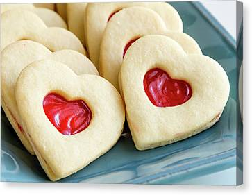 Canvas Print featuring the photograph Cookie Love by Teri Virbickis