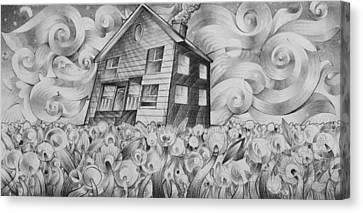Cool Spring Night Canvas Print