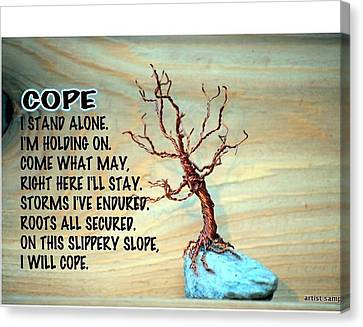 Cope Canvas Print
