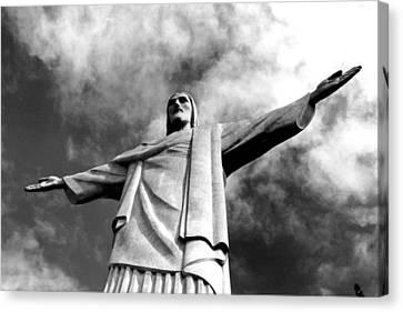 Corcovado - Rio De Janeiro - Brasil Canvas Print by Eduardo Costa