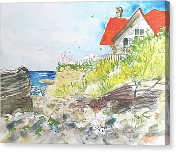 Cornfield Point Old Saybrook Canvas Print