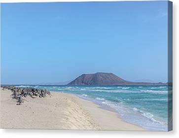 Corralejo - Fuerteventura Canvas Print