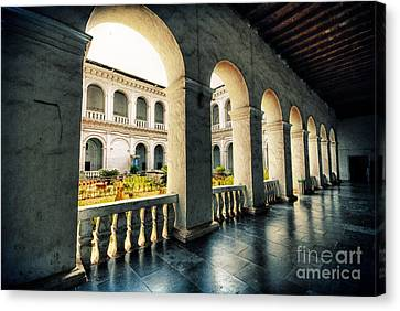 Corridor Canvas Print by Charuhas Images