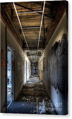 Corridor Canvas Print by Svetlana Sewell