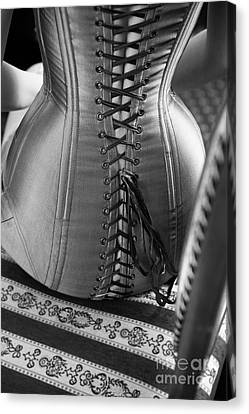 Canvas Print featuring the photograph Corset #2278 by Andrey  Godyaykin