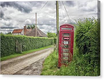 Country Lanes Canvas Print - Country Lane by Martin Newman