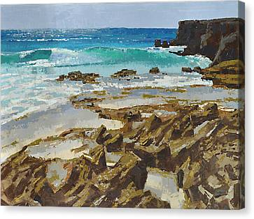 Cozumel East In The Morning Canvas Print