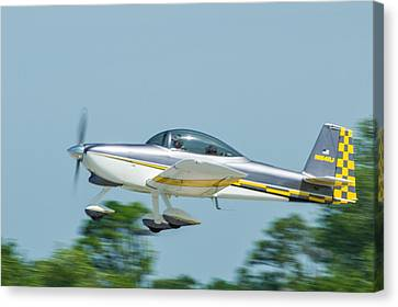 Cracker Fly-in Canvas Print by Michael Sussman