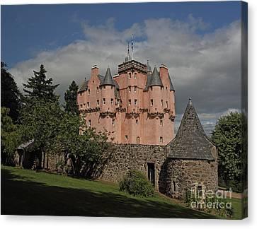 Scotland Canvas Print - Craigievar Castle by Maria Gaellman