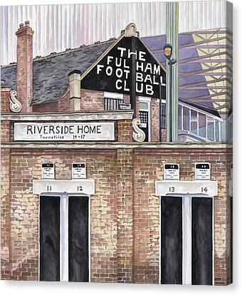 Craven Cottage Canvas Print