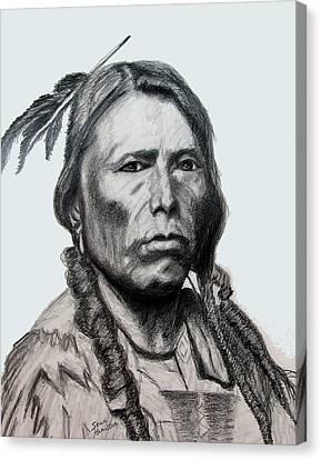 Crazy Horse Canvas Print