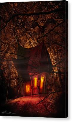 Crooked House Canvas Print by Svetlana Sewell