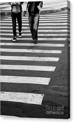 Crossing Canvas Print by Gabriela Insuratelu