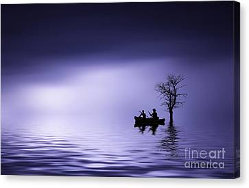 Canvas Print featuring the photograph Cruise by Bess Hamiti