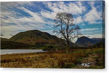 Crummock Water Canvas Print by John Collier
