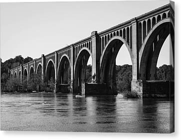 Csx A-line Bridge Canvas Print