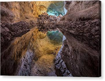 Lanzarote Canvas Print - Cueva De Los Verdes - Lanzarote by Joana Kruse