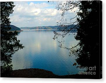 Cumberland Lake Canvas Print by Anne Kitzman